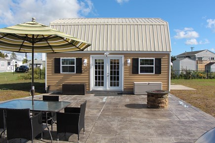 Bourne Cape Cod vacation rental - Relax by the fire pit after a day at the beach