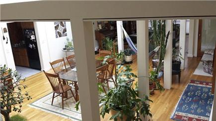 Wellfleet Cape Cod vacation rental - Atrium high ceiling light filled space with 12 skylights.