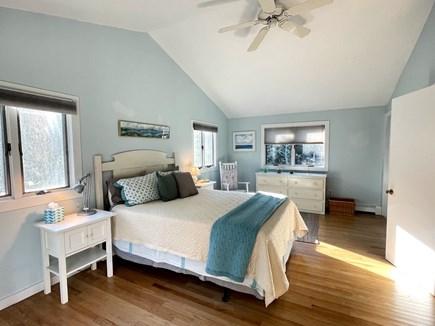 Wellfleet, Lieutenant Island Cape Cod vacation rental - Upper Level Primary Bedroom with Queen Bed