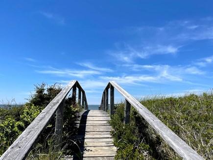 Wellfleet, Lieutenant Island Cape Cod vacation rental - Bridge to the Beach