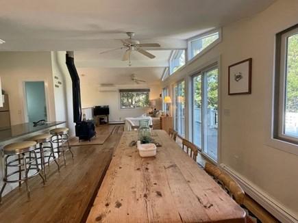 Wellfleet, Lieutenant Island Cape Cod vacation rental - Dining area seats 8