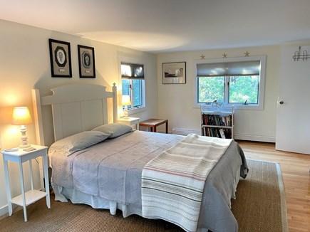 Wellfleet, Lieutenant Island Cape Cod vacation rental - Lower Level Primary Bedroom (has en-suite)
