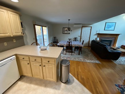East Harwich Cape Cod vacation rental - Kitchen to Dining Area
