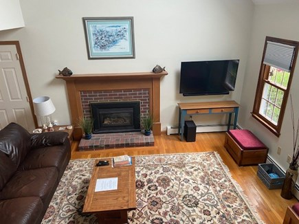 East Harwich Cape Cod vacation rental - 50 inch Swivel TV