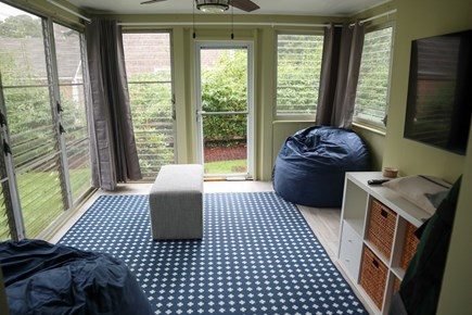 Brewster Cape Cod vacation rental - Three-season room will be completely furnished
