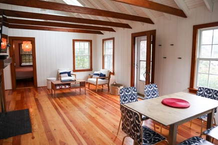 Brewster Cape Cod vacation rental - Open dining area has appeal