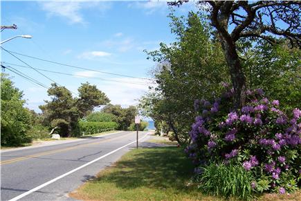 East Orleans Cape Cod vacation rental - View of Nauset Beach from front of house on Beach Road