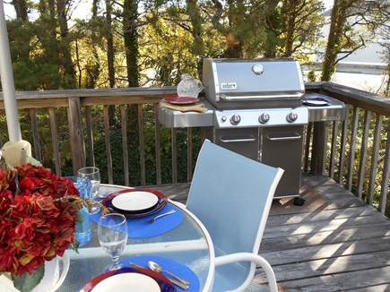 East Orleans Cape Cod vacation rental - Outside dining on the deck