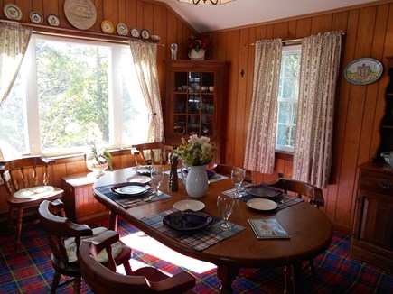 East Orleans Cape Cod vacation rental - Enjoy morning coffee in the Dining Room