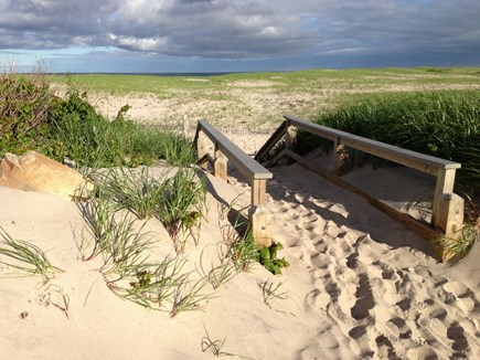 East Orleans Cape Cod vacation rental - We are just steps to Nauset Beach