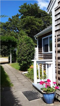 Dennis Port Cape Cod vacation rental - Walkway to cottage