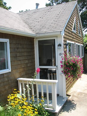 Dennis Port Cape Cod vacation rental - Home entrance