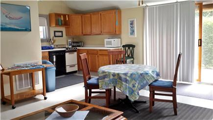 Dennis Port Cape Cod vacation rental - Open living space with kitchen