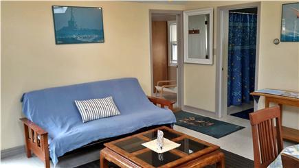 Dennis Port Cape Cod vacation rental - Futon sleeping sofa