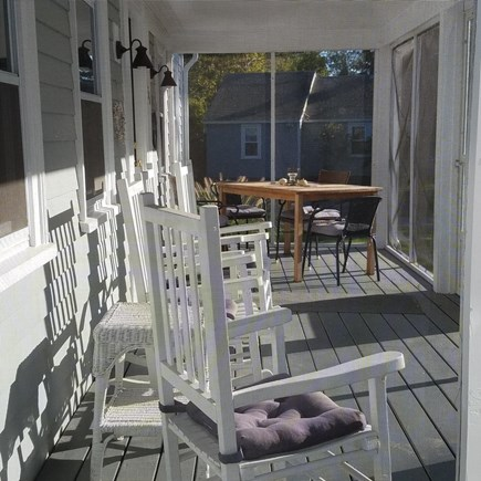 Dennis Port Cape Cod vacation rental - Relax on the porch