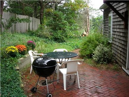 Orleans Cape Cod vacation rental - Patio and grill