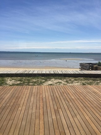 Provincetown Cape Cod vacation rental - Extra large deck right on the beach