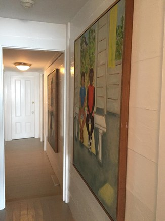 Provincetown Cape Cod vacation rental - Hallway to extra bedrooms