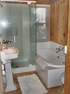 Wellfleet Cape Cod vacation rental - Main Bathroom