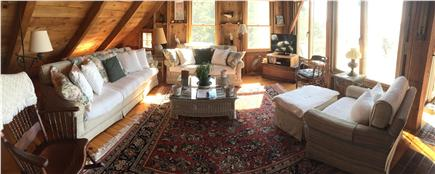 Wellfleet Cape Cod vacation rental - Panoramic view of main living area