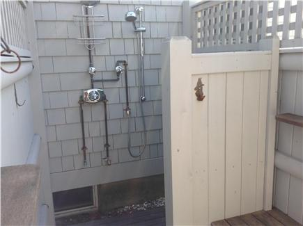 Wellfleet Cape Cod vacation rental - Two suite enclosed outdoor shower