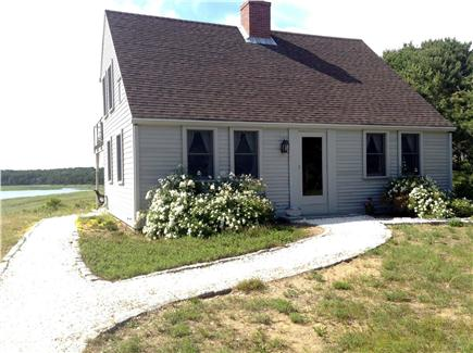 Wellfleet Cape Cod vacation rental - Quintessential cape cod home viewed from the sand road