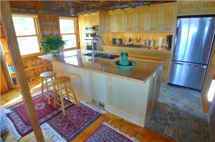 Wellfleet Cape Cod vacation rental - New gourmet kitchen, 2012