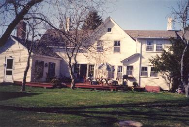 Harwich Cape Cod vacation rental - Spacious, sunny deck with gas grill