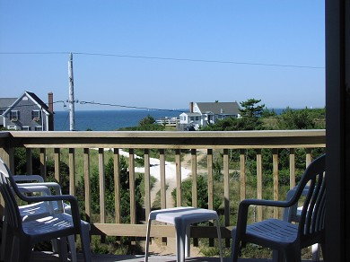 North Truro Cape Cod vacation rental - Spectacular Bay Views from the  Roof-deck