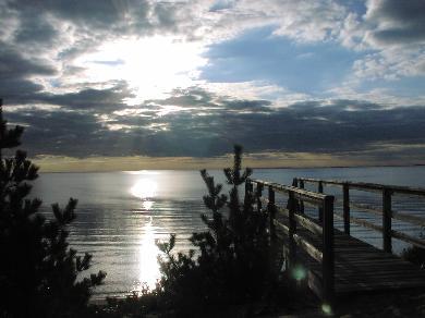 North Truro Cape Cod vacation rental - Private Sandy Bay Beach