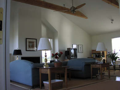 North Truro Cape Cod vacation rental - Open and Airy Waterview Living room
