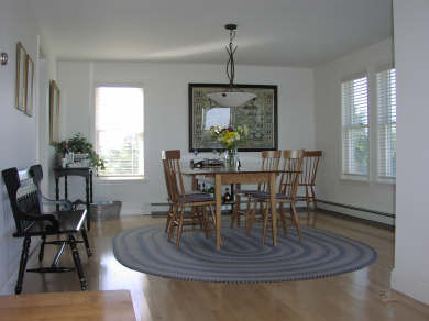 North Truro Cape Cod vacation rental - Waterviews Abound from the Dining room