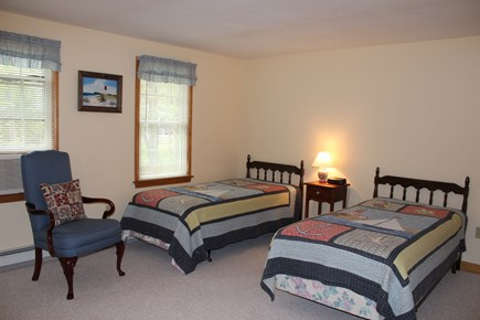 Wellfleet Cape Cod vacation rental - 3rd bedroom with 2 twin beds