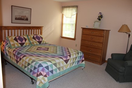 Wellfleet Cape Cod vacation rental - First floor bedroom with a queen-sized bed