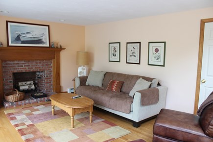 Wellfleet Cape Cod vacation rental - Relax in this bright comfortable cozy living room
