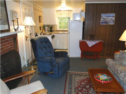 West Barnstable Cape Cod vacation rental - Living area facing kitchen
