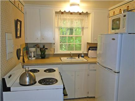 West Barnstable Cape Cod vacation rental - Kitchen with the basics