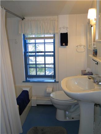 Chatham Cape Cod vacation rental - Upstairs full bath with tub and shower