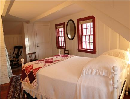 Chatham Cape Cod vacation rental - Chimney Room – upstairs double bed & nursery alcove
