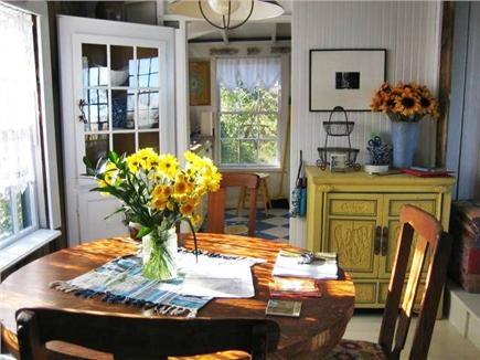 North Eastham Cape Cod vacation rental - Dining room seats 4 to 6