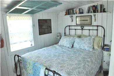 North Eastham Cape Cod vacation rental - Bedroom #1- Queen-sized bed with ocean view.
