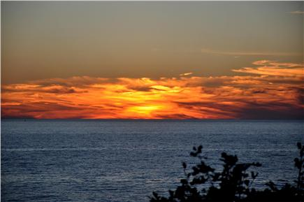 North Eastham Cape Cod vacation rental - Leisurely and peaceful nights spent on the deck.