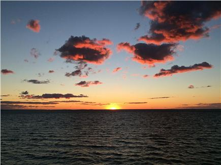 North Eastham Cape Cod vacation rental - One of a kind sun sets.