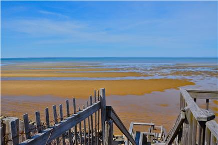 North Eastham Cape Cod vacation rental - Private access to bay-side beach.
