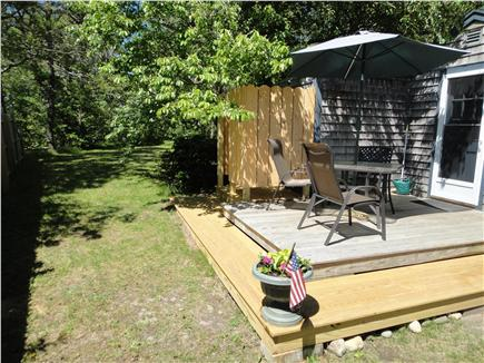 Chatham Cape Cod vacation rental - Relax on the deck