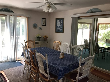Eastham Cape Cod vacation rental - Eating Area Options - Inside, Screened In Porch, or Outside Deck