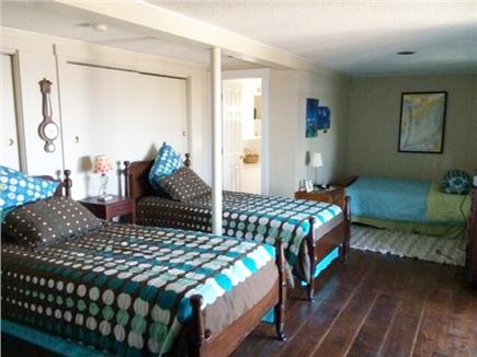 Wareham MA vacation rental - 3rd bedroom, ,twin beds, full futon, 1/2 bath off bedroom
