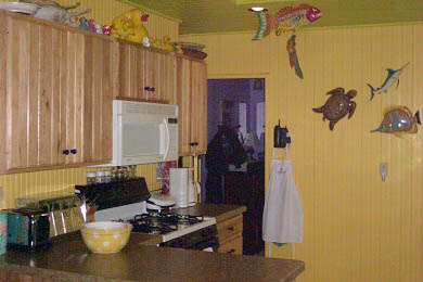 Wareham MA vacation rental - Newly renovated kitchen with gas cooking,microwave & dishwasher