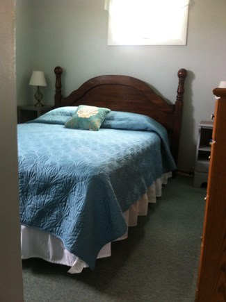 East Sandwich Cape Cod vacation rental - Downstairs bedroom with queen bed.