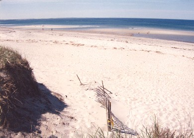East Sandwich Cape Cod vacation rental - The sandbars come out twice a day!